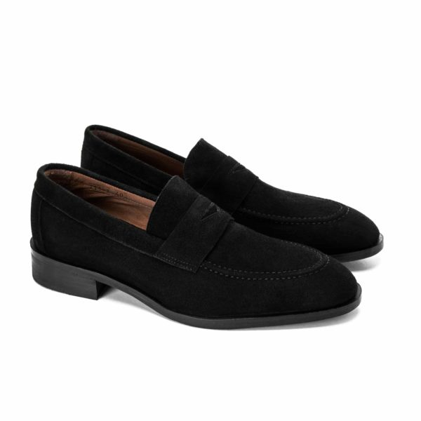 Classic 04 Suede Penny Loafer