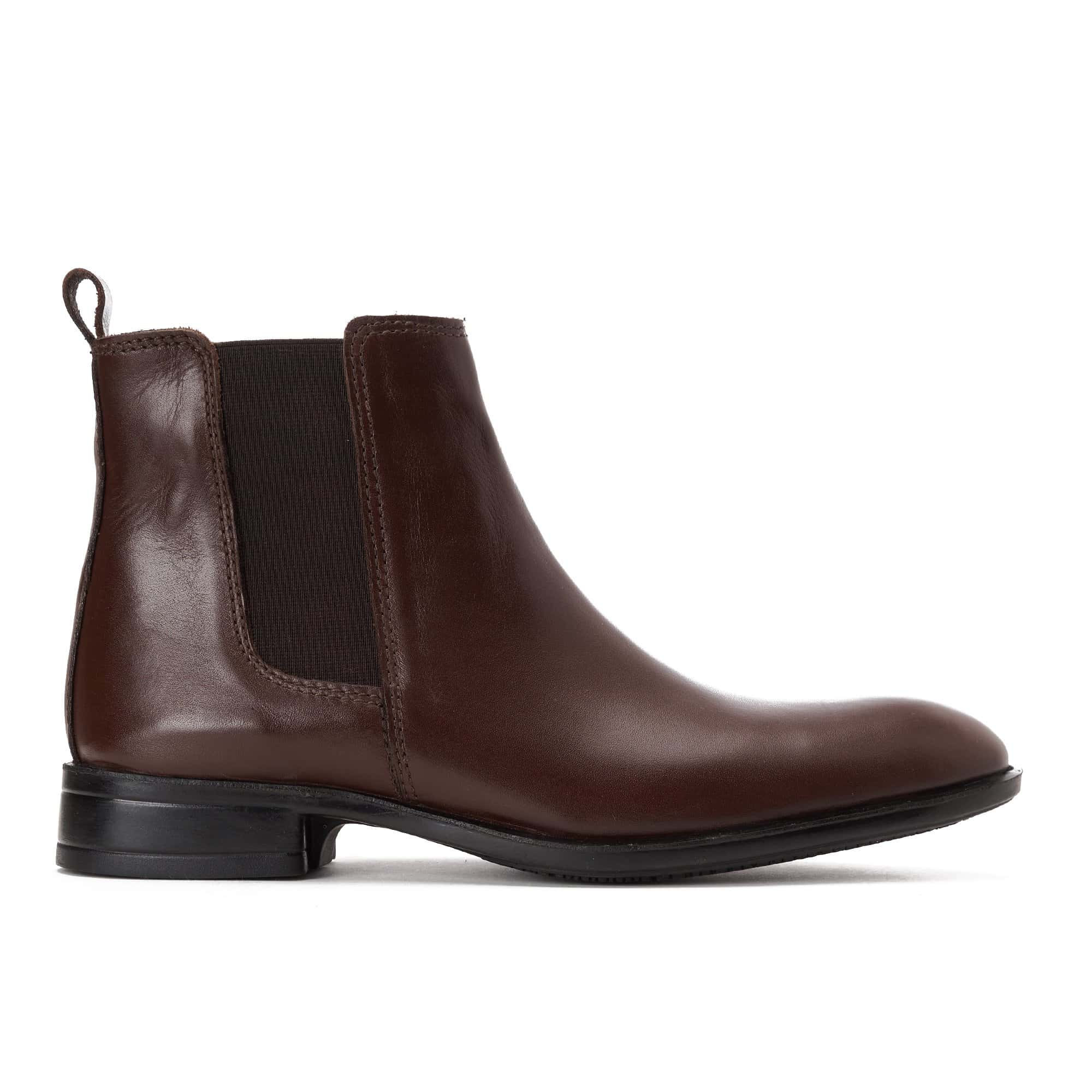 Half boot Leather brown
