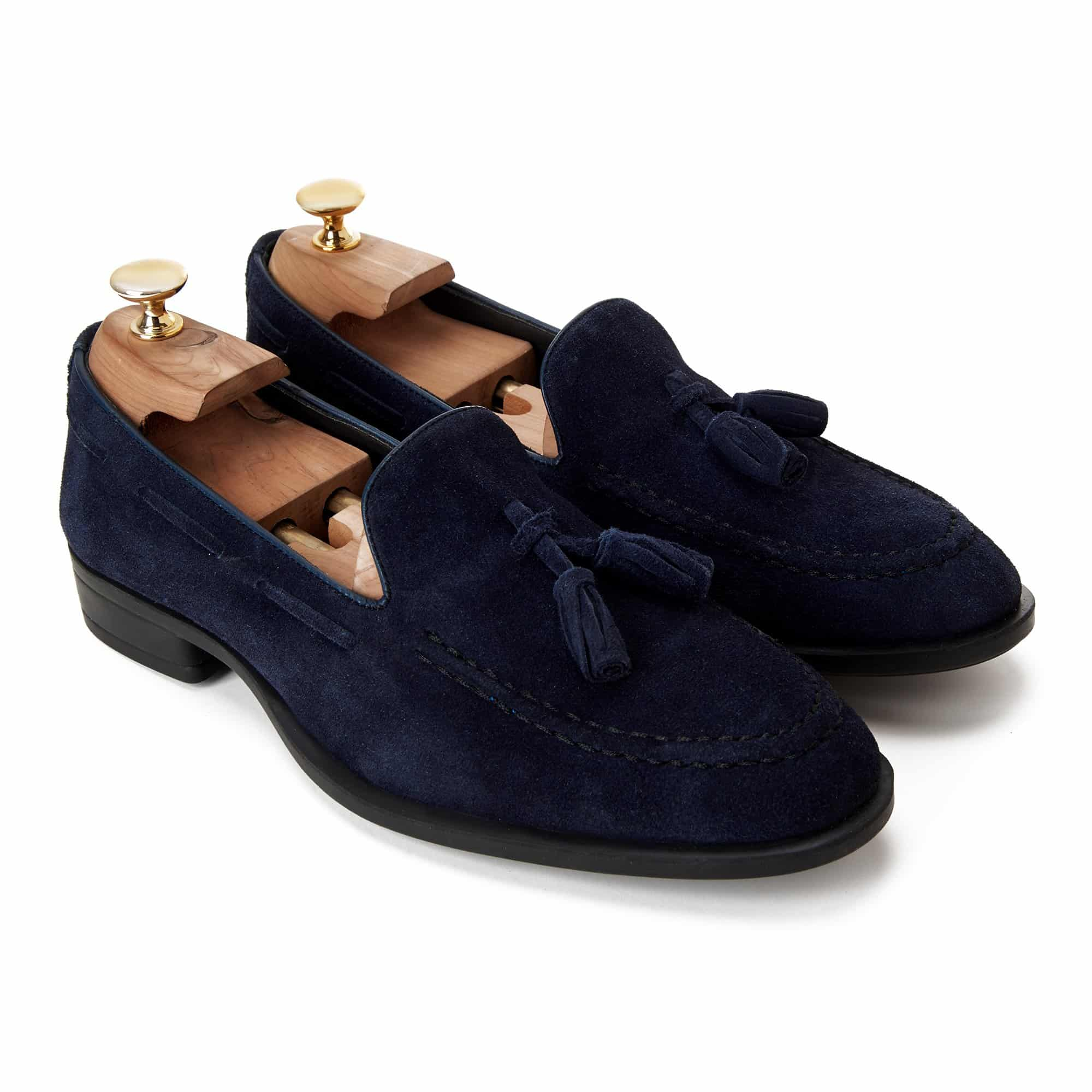 06 Suede Blue Loafer