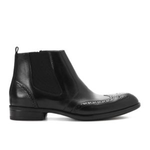 Black Oxford Halfboot